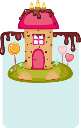 house: Candy house  Illustration