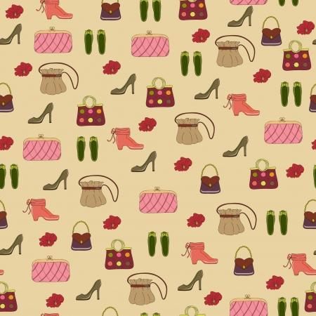 Seamless accessories wallpaper