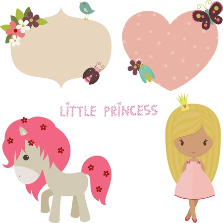pink dress: Princess set