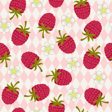 raspberry pink: Raspberry pink seamless wallpaper