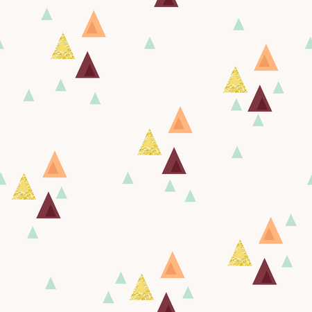 Abstract triangle seamless pattern Ilustrace