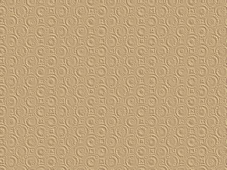 vellum: Beige pink golden embossed paper 3D texture