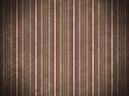 Digitally generated grunge vintage stained purple wallpaper texture with vertical stripes illuminated in the center. photo