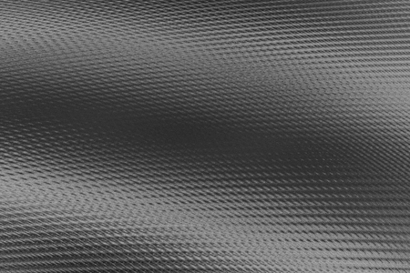 ribbed: Digitally generated 3D texture of the grey wavy ribbed artificial material.