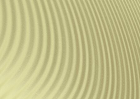 wavy fabric: Beige wavy fabric texture abstract background; digitally generated sandy beige textile texture with thin waves Stock Photo