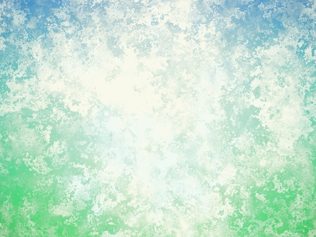 Sea foam abstract grunge background. Abstraction with white patina texture, digital art inspired by sea foam. Banque d'images