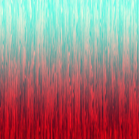 Red blue ombre striped abstract background. Digitally generated abstract background with thin rough vertical lines and gradient coloring. Banque d'images