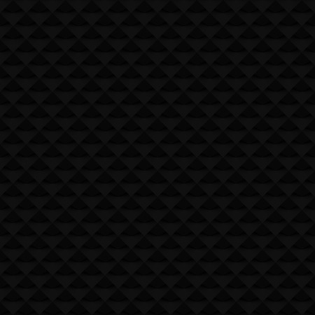 Black 3D raster seamless pattern. Digitally generated abstract geometric pattern. Can be used as a dark 3D web background tile.