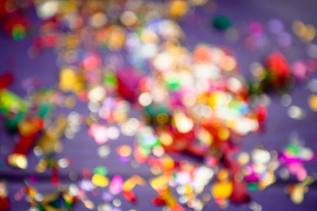colored background. Defocused lights. concept of holiday Stock Photo