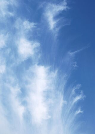 dyllic: blue sky and clouds