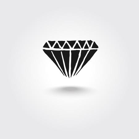 Diamond logo design. Stock Vector - 52287393