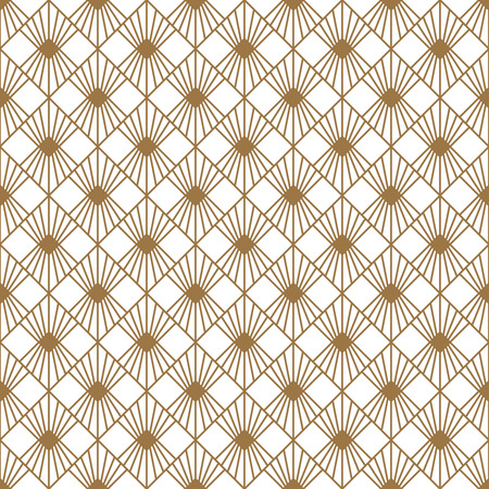 retro styled imagery: Art Deco style seamless pattern texture.