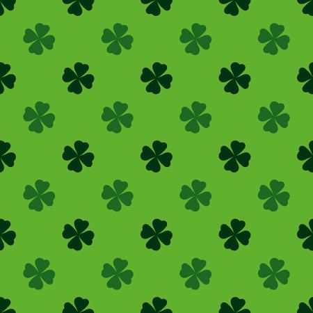 blackjack: Playing, poker, blackjack cards symbol .Clover pattern green.