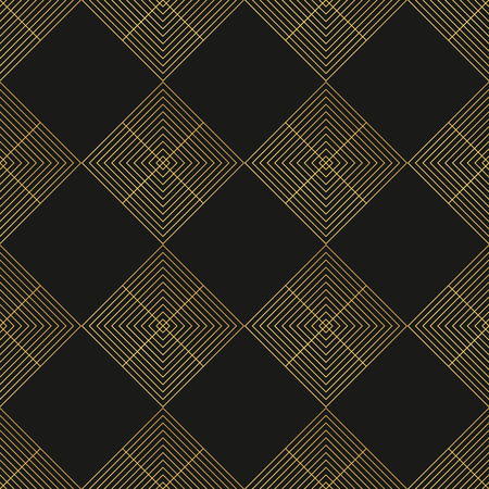 30s: Art Deco seamless vintage wallpaper pattern Illustration