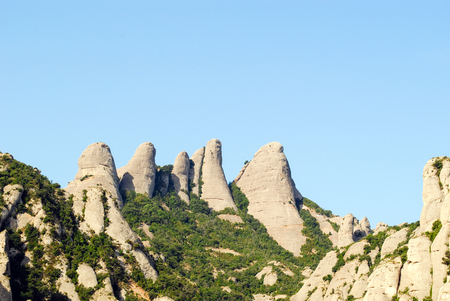 View of Montserrat mountains