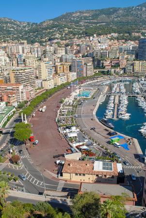 Cityscape  cityscape of Monte Carlo, Monaco. Principality of Monaco, French Riviera