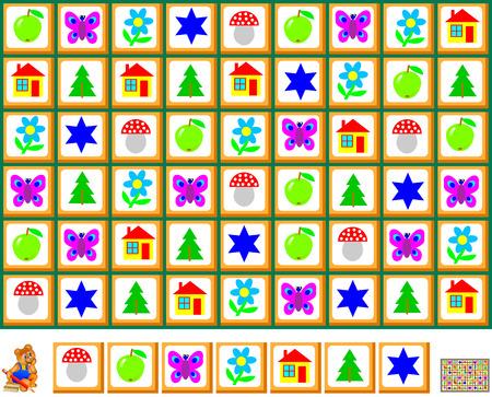 Logik-Puzzle-Spiel Mit Labyrinth. Müssen Den Weg Von Der Krähe ...