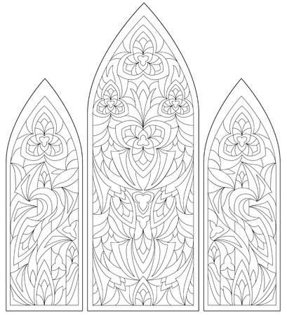 색칠하기위한 흑백 페이지.