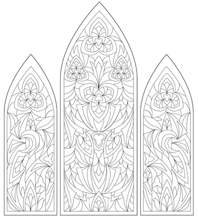 Black and white page for coloring.