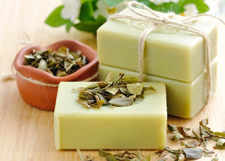 handmade soap: Natural handmade soap. Spa