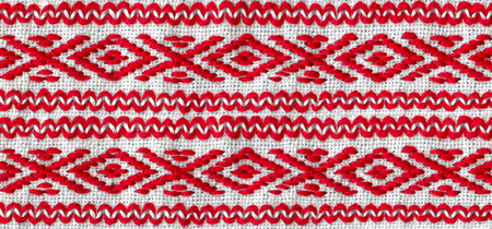 hilo rojo: hilo rojo bordado nacional ucraniano