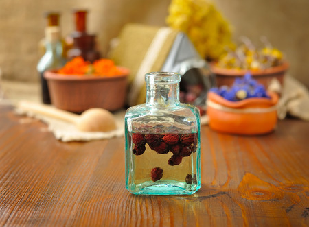 tincture: Tincture of berries, herbal medicine