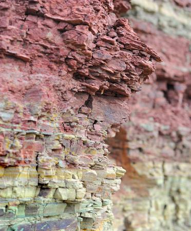 devonian: Rock sandstone texture, devonian stones
