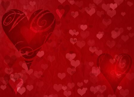pretty s shiny: Valentines day red background Stock Photo