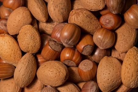 different type of nuts (mix)