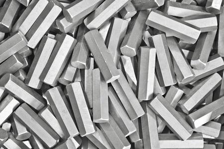materia prima: de fondo montón de detalles metálicos