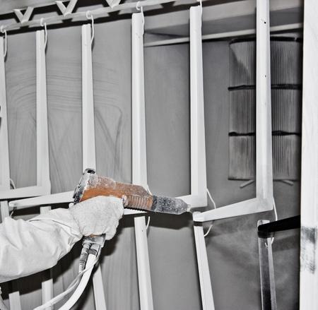 coating: powder coating sprayer