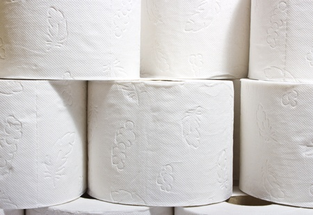 roll tissue paper ( as background)