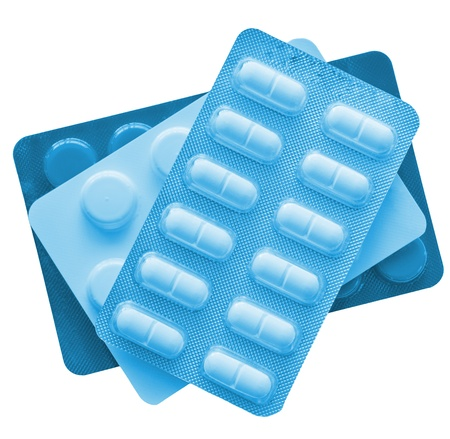medications isolated on white background Stock Photo - 13476262