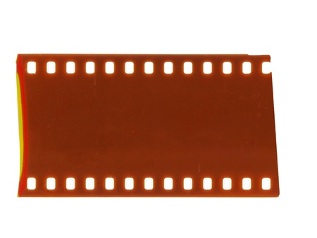 grained: piece of blank grained film strip texture