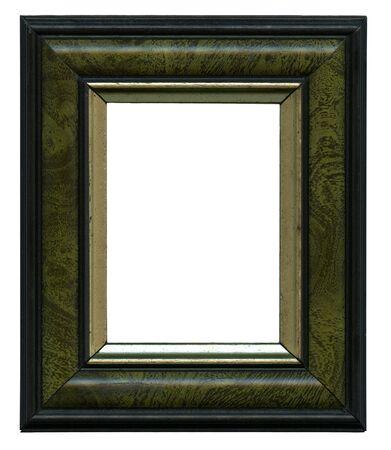 the borderline: frame isolated on white background