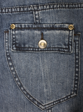 blue jeans pocket as a background photo