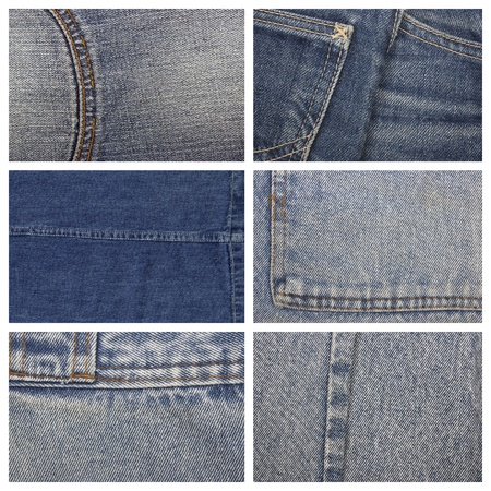 the set of jeans textures, can be used as background