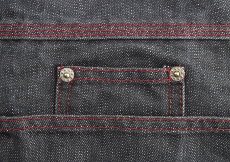 Decorated Jeans as a background  Stock Photo