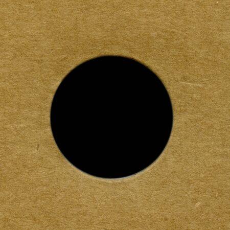 brown textured cardboard frame photo