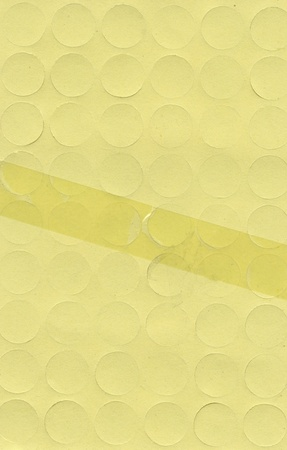 Yellow paper texture, can be used as background  Stock Photo - 19471621