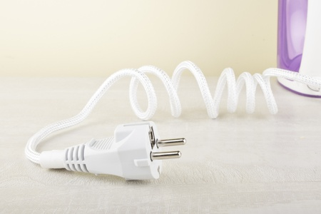 cabel: The cabel of iron, close up Stock Photo