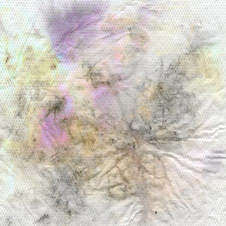 cruddy: crumbled dirty napkin texture