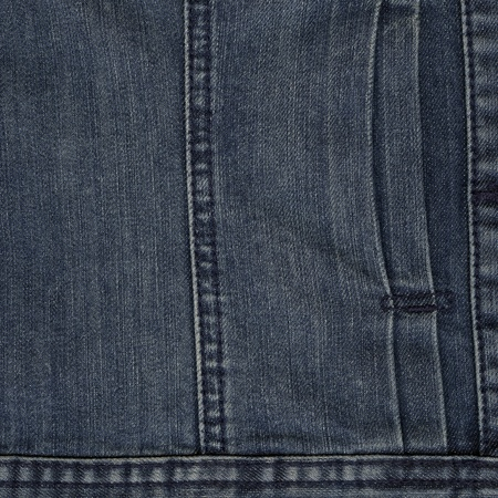 blue denim: Worn blue denim jeans texture, background