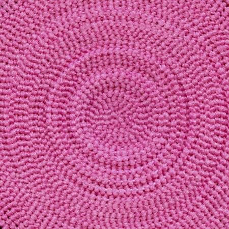 synthetic fiber: pink textured material background Stock Photo