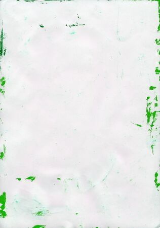 smudged: Paper texture. White paper sheet. Stock Photo