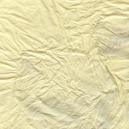 cruddy: crumbled dirty napkin texture  Stock Photo