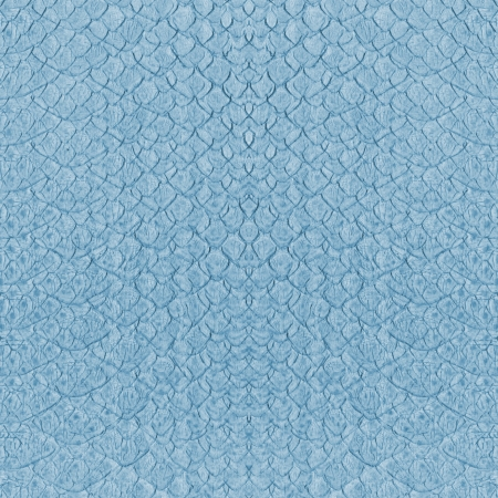 Blue Snake Skin Imitation Background Stock Photo, Picture