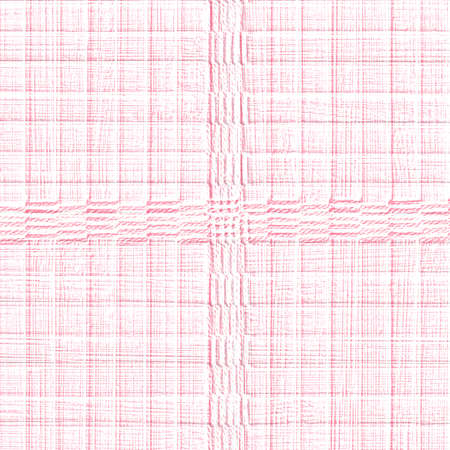 red plaid: pale red plaid background.Useful in design-works Stock Photo