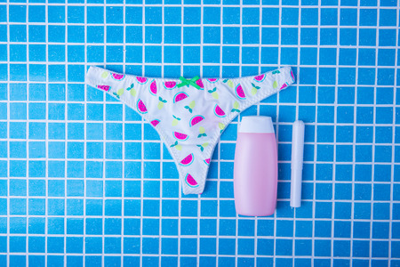 female panties and napkins hygienic, tampons
