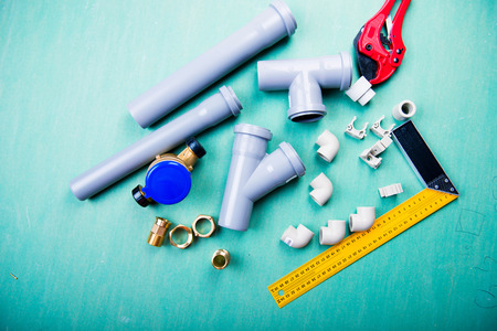 water and plumbing tools, polypropylene, metal-plastic and PVC pipes